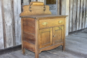 1920s Oak Washstand